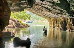 Visiting Phong Nha Caves